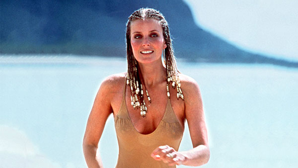 """Bo Derek turned heads in her first film, the comedy """"10."""""""