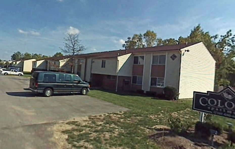 The Colonie Apartments in Amherst is one of six student housing complexes in six states that were acquired in a Sharia-compliant joint-venture deal. (Google)