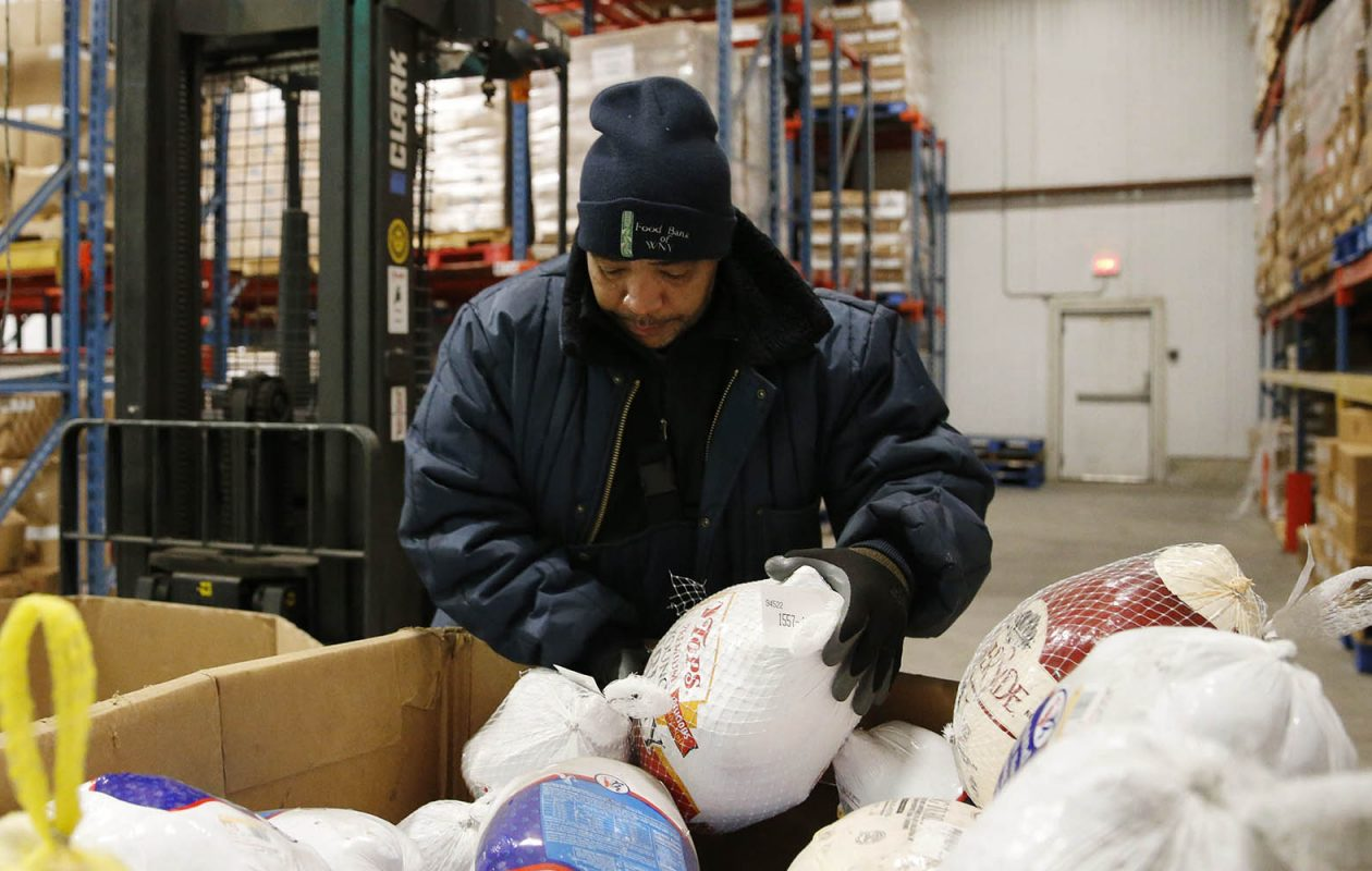 The Food Bank of WNY has merged with Meals on Wheels. (Derek Gee/News file photo)