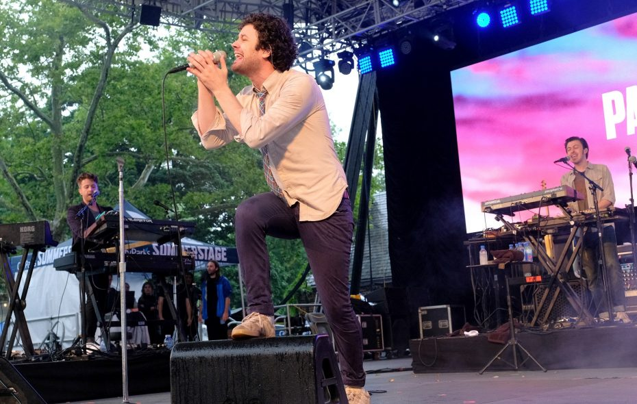 Passion Pit, featuring frontman and Buffalo native Michael Angelakos, plays Rapids Theatre on May 20. (Getty Images)
