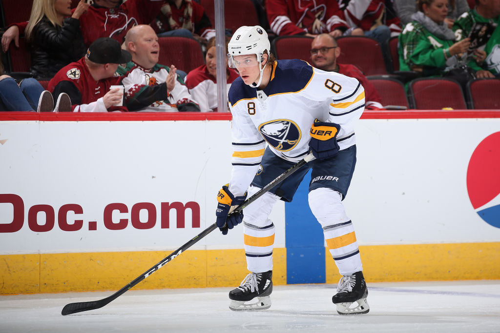 Buffalo Sabres defenseman Casey Nelson has been out with an injury since Dec. 4. (Getty Images)