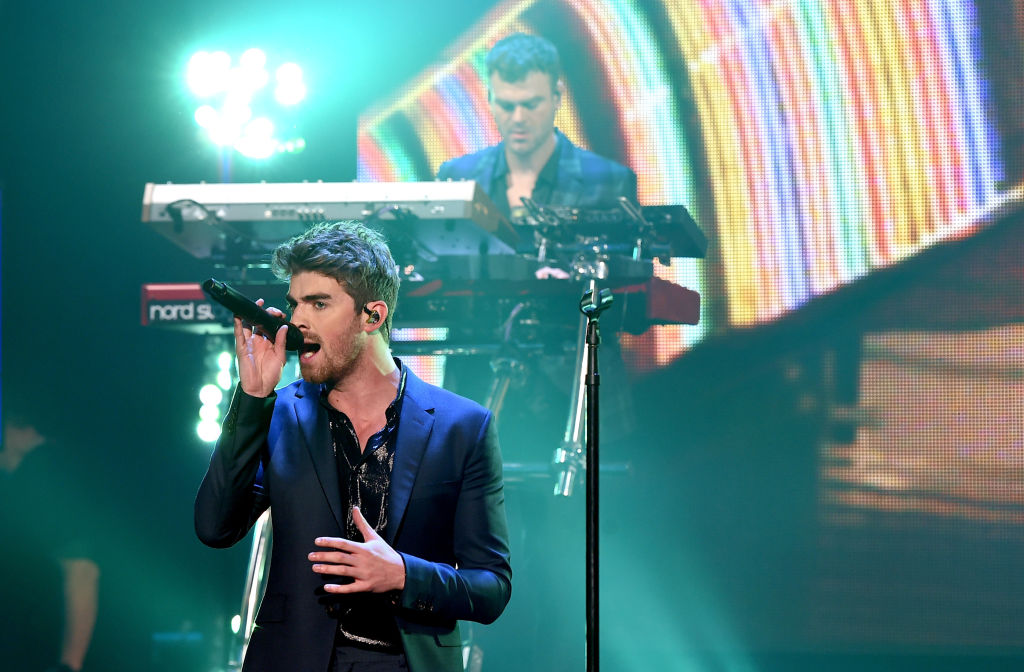 The Chainsmokers - Andrew Taggart and Alex Pall - will perform at KeyBank Center. (Getty Images)