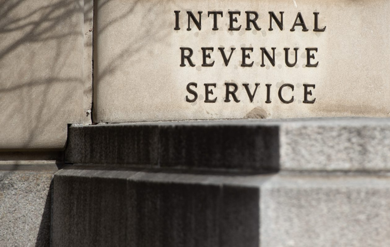 The Internal Revenue Service said the average refund so far this year was down nearly 9 percent, to $1,949 from $2,135 a year ago. (SAUL LOEB/AFP/Getty Images)