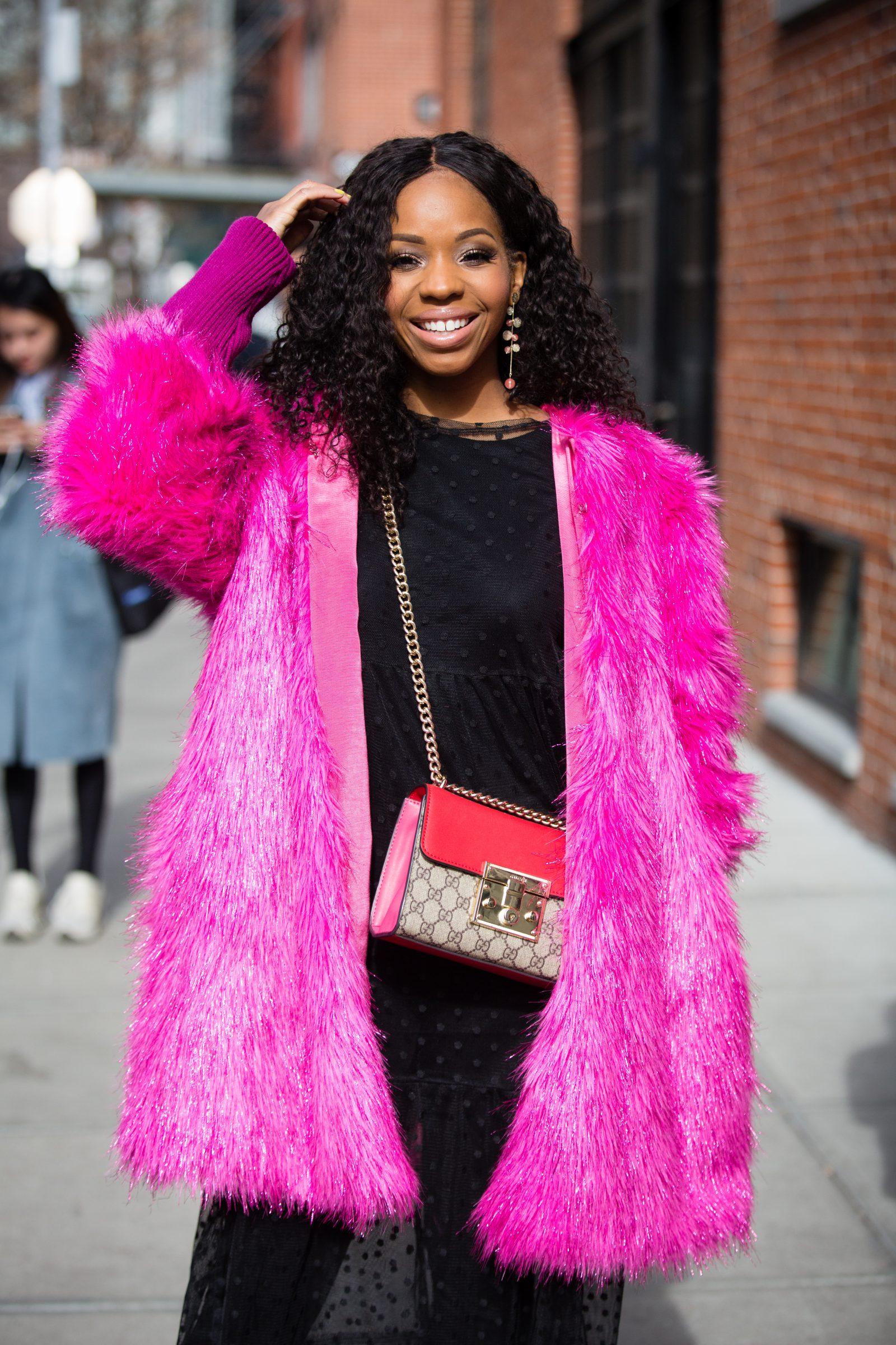 3971847fbc1dc2 Colorful street style at New York Fashion Week – The Buffalo News