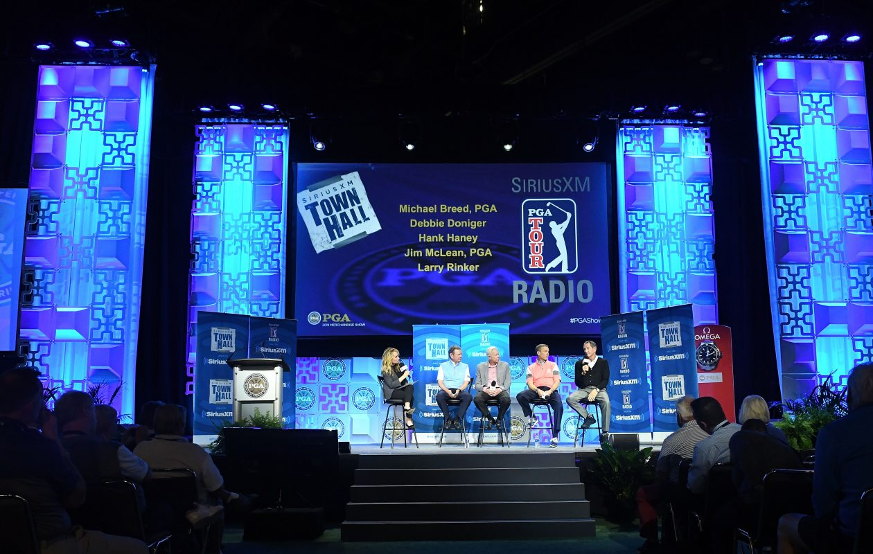 There was plenty to see and do during the annual PGA Merchandise Show. (Gerardo Mora/Getty Images for SiriusXM)