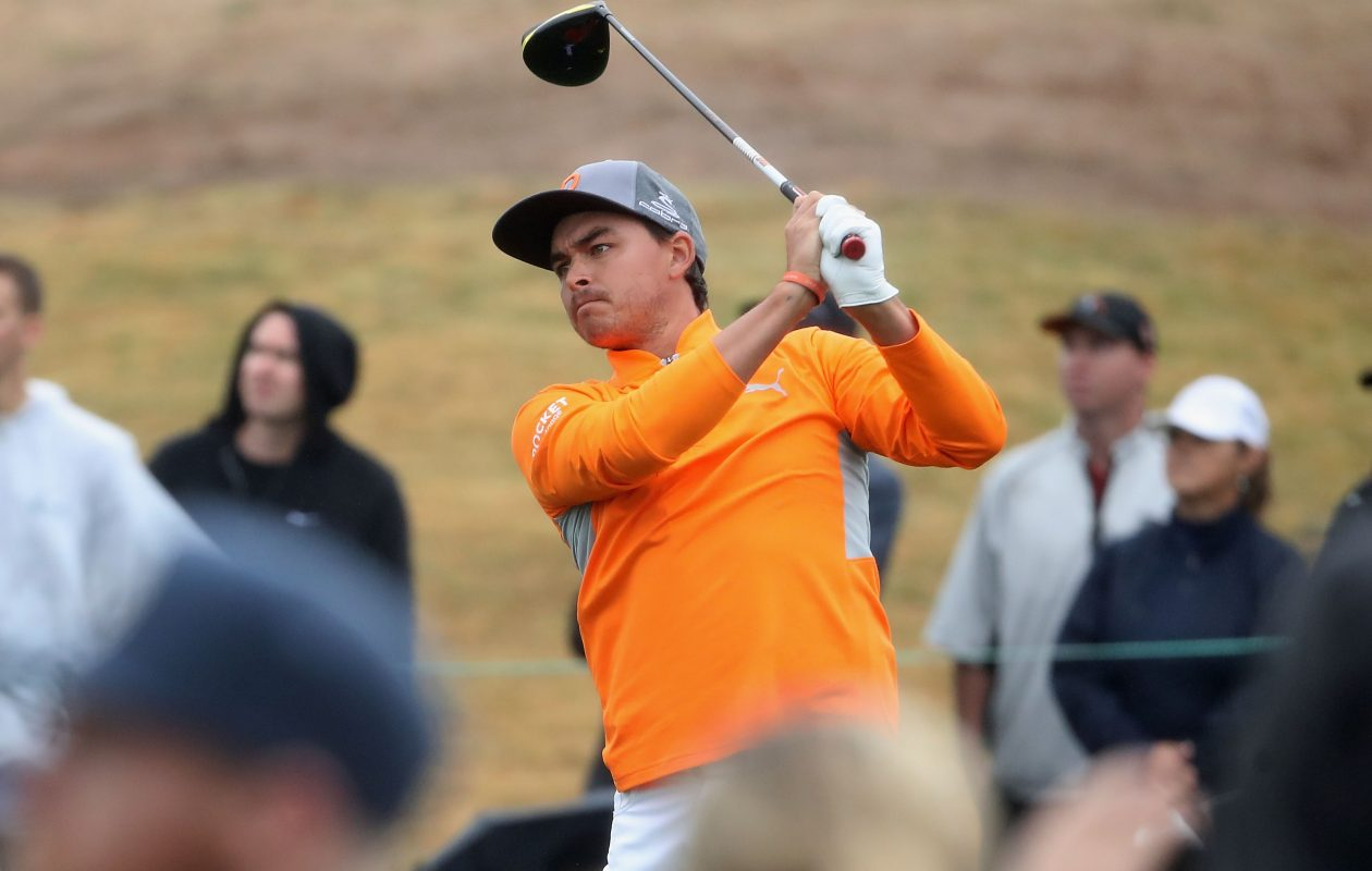 Rickie Fowler overcame a triple bogey on No. 11 to win the Phoenix Open earlier this month. (Getty Images)