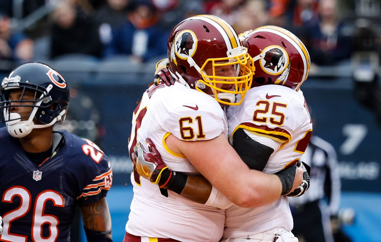 Spencer Long was a third-round draft pick in 2014 for the Washington Redskins. (Getty Images)