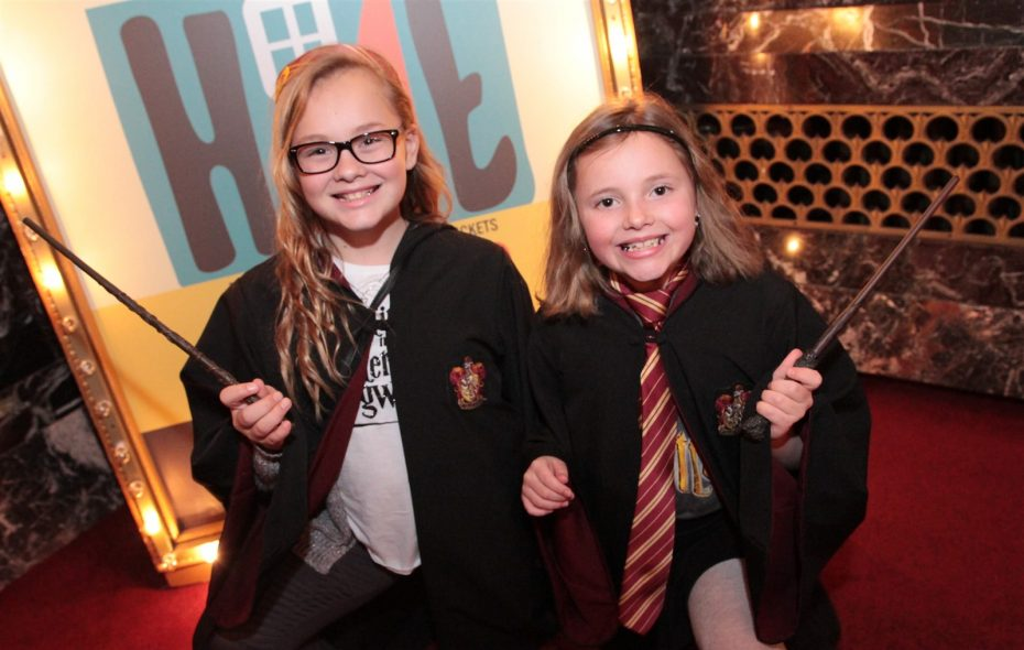 "Young Harry Potter fans were all decked out at the first showing of ""Harry Potter and the Sorcer's Stone"" in concert with the Buffalo Philharmonic Orchestra at Shea's Buffalo Theatre. (Sarah K. McIlhatten/Special to the News )"