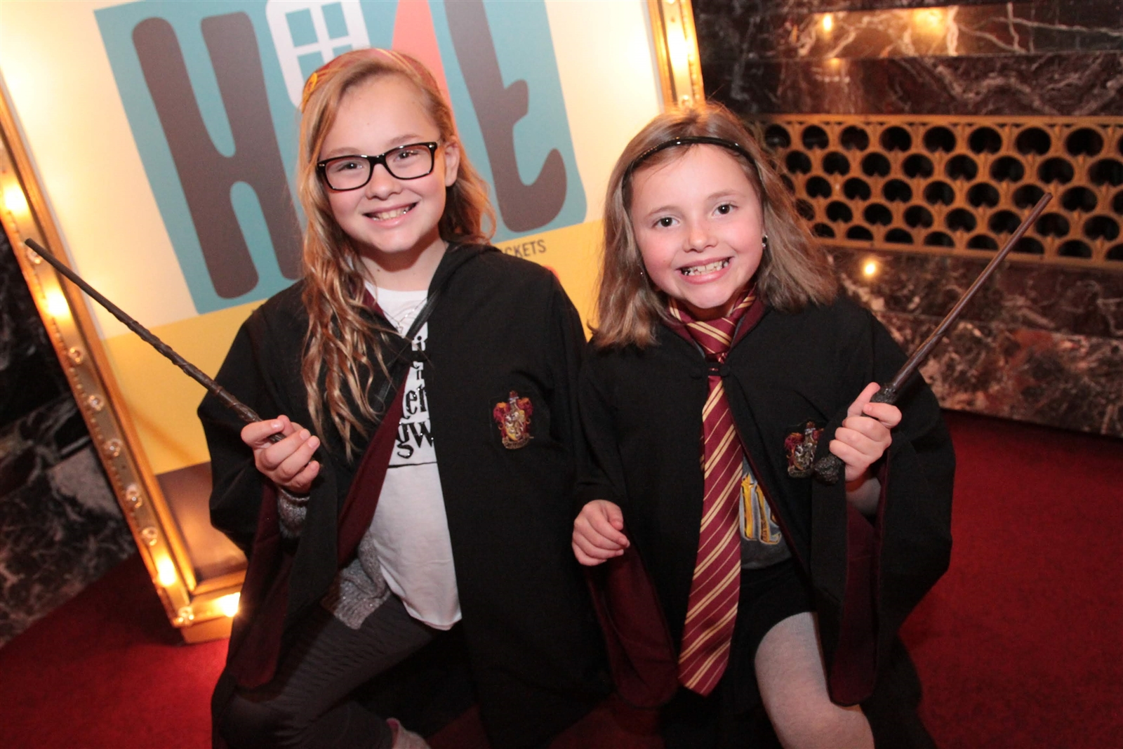 Young Harry Potter fans were all decked out at the first showing of 'Harry Potter and the Sorcer's Stone' in concert with the Buffalo Philharmonic Orchestra at Shea's Buffalo Theatre. (Sarah K. McIlhatten/Special to the News )
