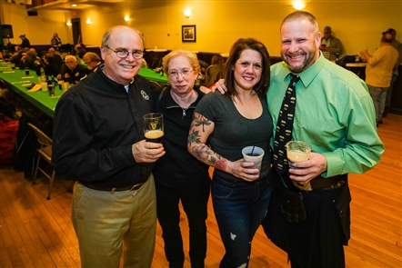 A gaggle of Irish bands and dancers were festive for the annual Great Guinness Toast, held Friday, Feb. 15, 2019 in the Buffalo Irish Center. See the Smiling faces who took part in the revelry.