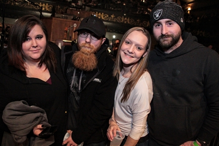 Smiles at Coheed and Cambria in Rapids Theatre