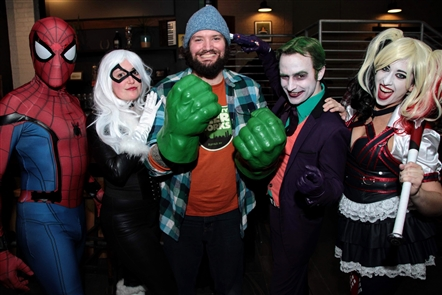 Smiles at Nickel City Con launch in Community Beer Works