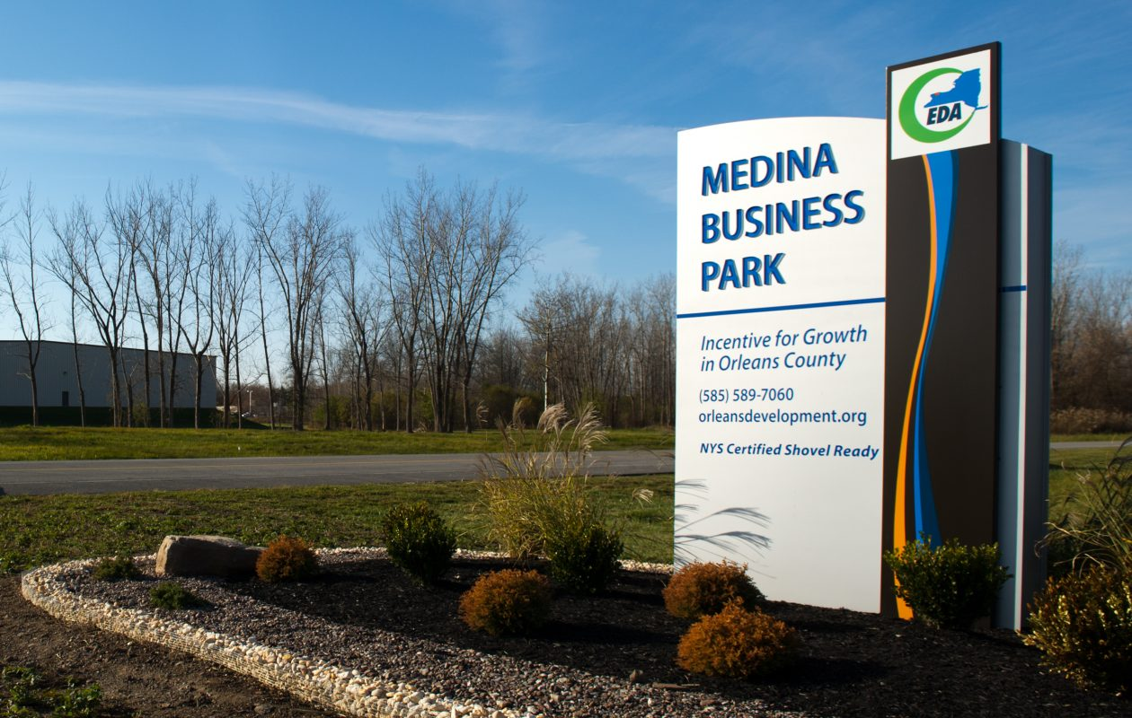 A new Cobblestone Inn is planned for the Medina Business Park in Orleans County.