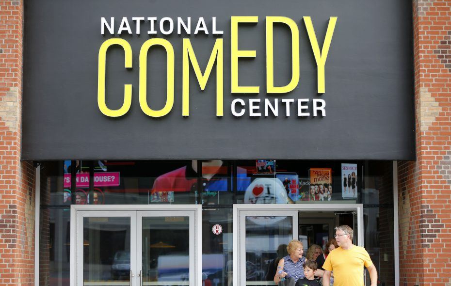 The National Comedy Center in Jamestown opened in 2018. (Mark Mulville/Buffalo News)