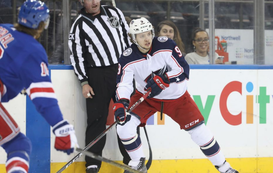 It seems unlikely Artemi Panarin will re-sign with Columbus, making him a top target at the trade deadline (Getty Images).