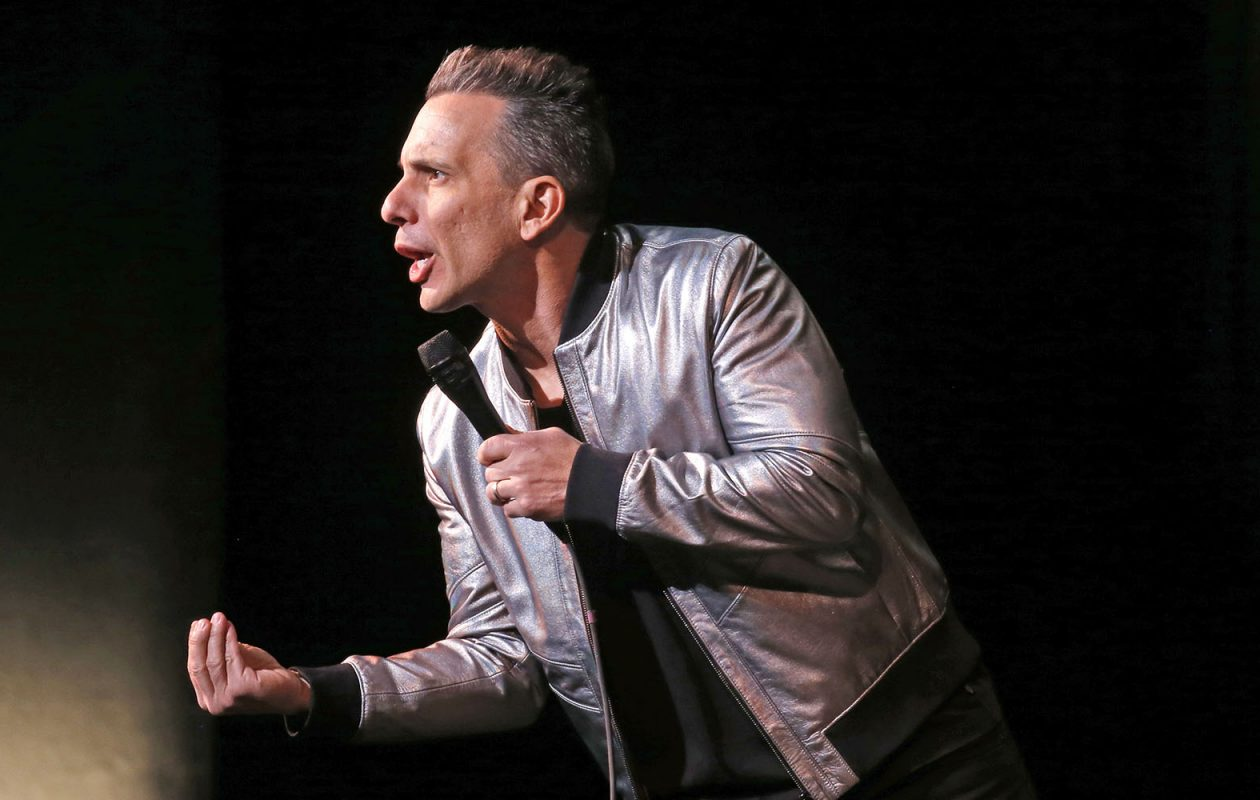 Comedian Sebastian Maniscalco opened his run at Shea's Performing Arts Center on Friday.  (Robert Kirkham/Buffalo News)