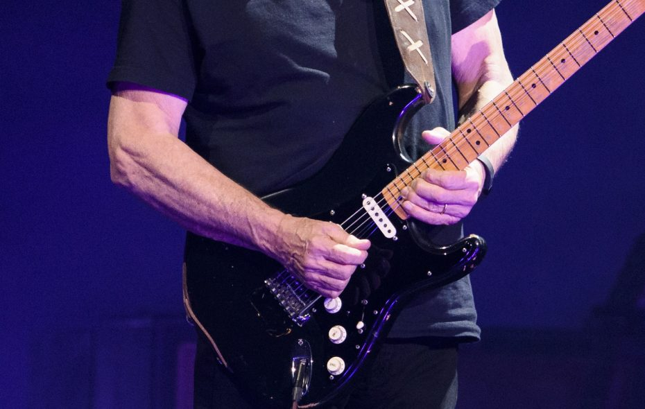 David Gilmour's legendary Black Strat. In Buffalo, many guitarists believe that their instruments become more than mere tools of the trade over time. (Getty Images)