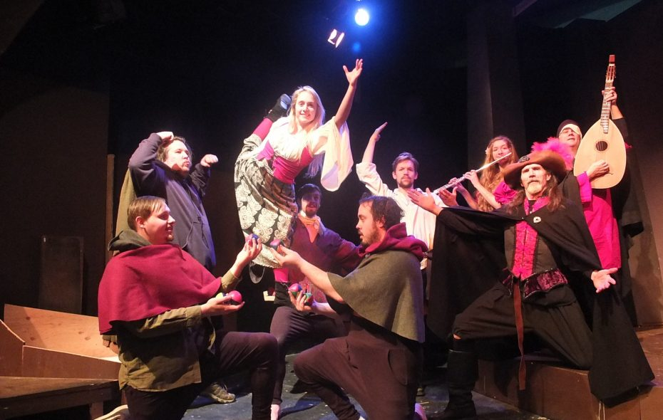 """""""Tales of the Driven"""" at Subversive Theatre. A world premiere production written and directed by Subversive Theatre's Founder & Artistic Director Kurt Schneiderman."""