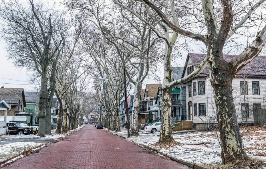 Streets like Timon on the East Side still offer affordable homes—many in the $100K range. (Matthew Digati)