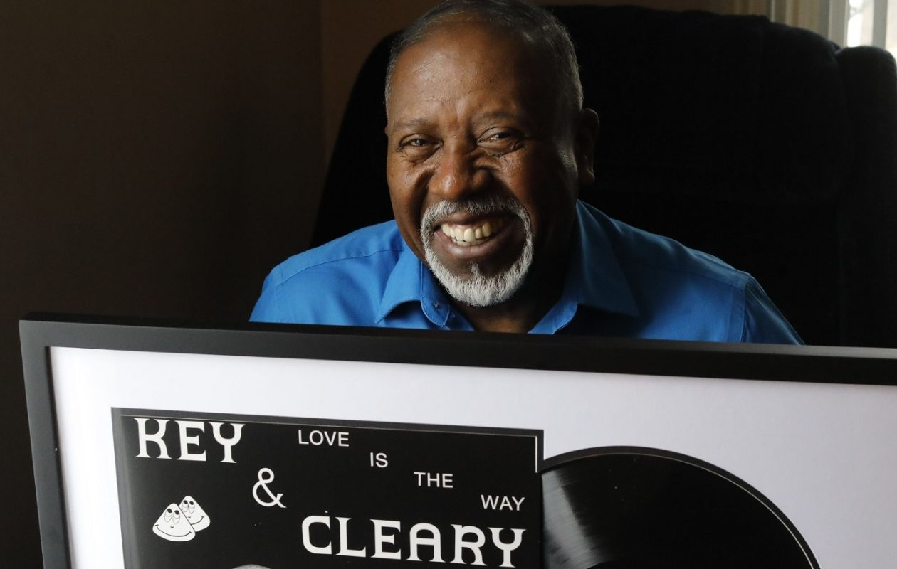 "Sylvester Cleary said, of the release of his music with Jesse Key nearly a half-century ago: ""It is the greatest feeling of freedom, joy, and love I've ever felt in my life."" (Derek Gee/Buffalo News)"