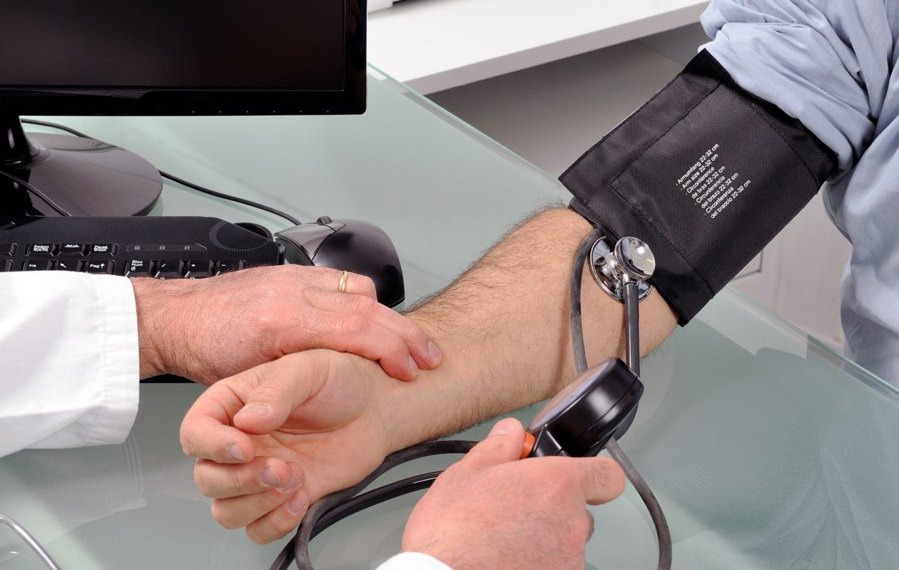 High blood pressure has no symptoms but eventually can lead to heart attack, stroke and other heart and vascular conditions. (Photo courtesy Fotolia/TNS)