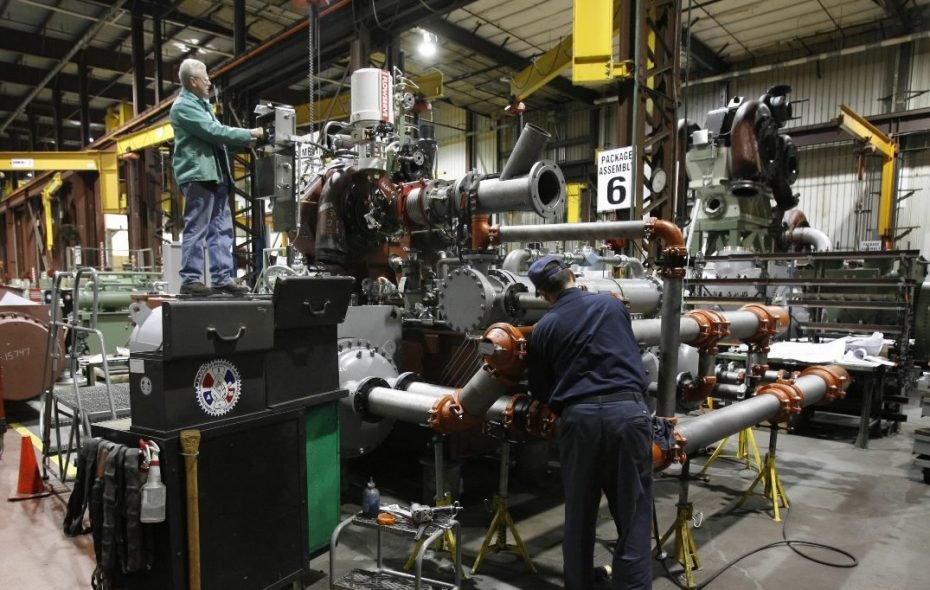 Ingersoll Rand will end manufacturing at its Cheektowaga plant, shown when it was still part of Cameron. (News file photo)