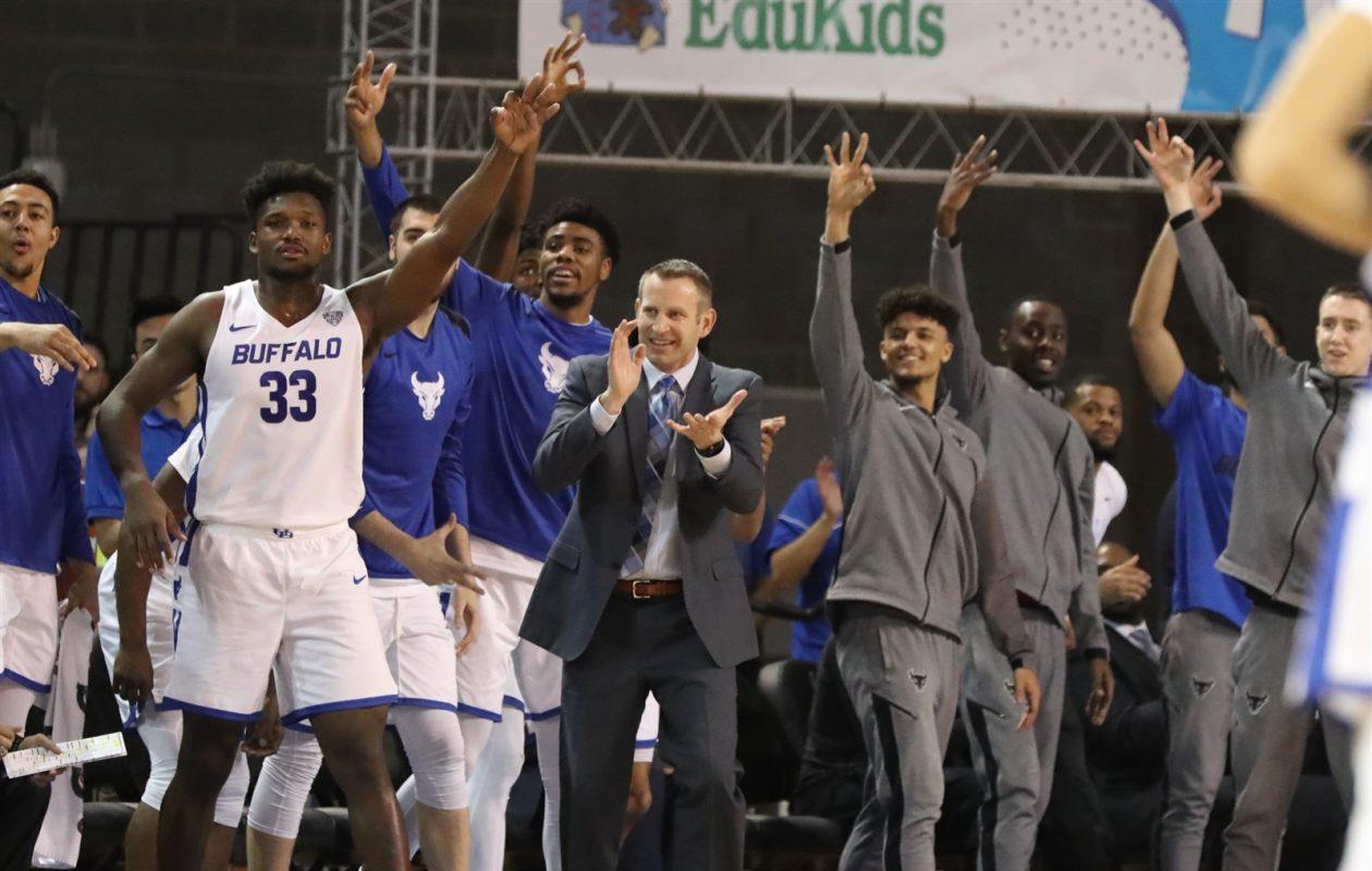 The No. 25 University at Buffalo men's basketball team hosts Kent State at 7 p.m. Friday at Alumni Arena. (James P. McCoy/News file photo)