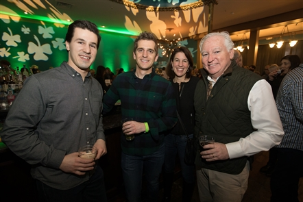 Smiles at The Wake for Irish Classical in Town Ballroom