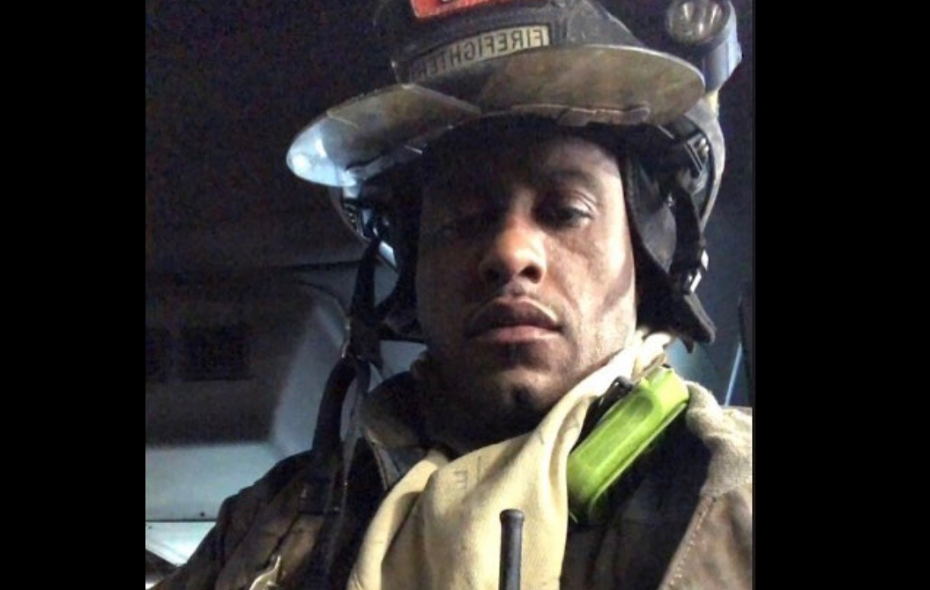 Injured firefighter sues Fire Department, saying he was left behind in burning attic