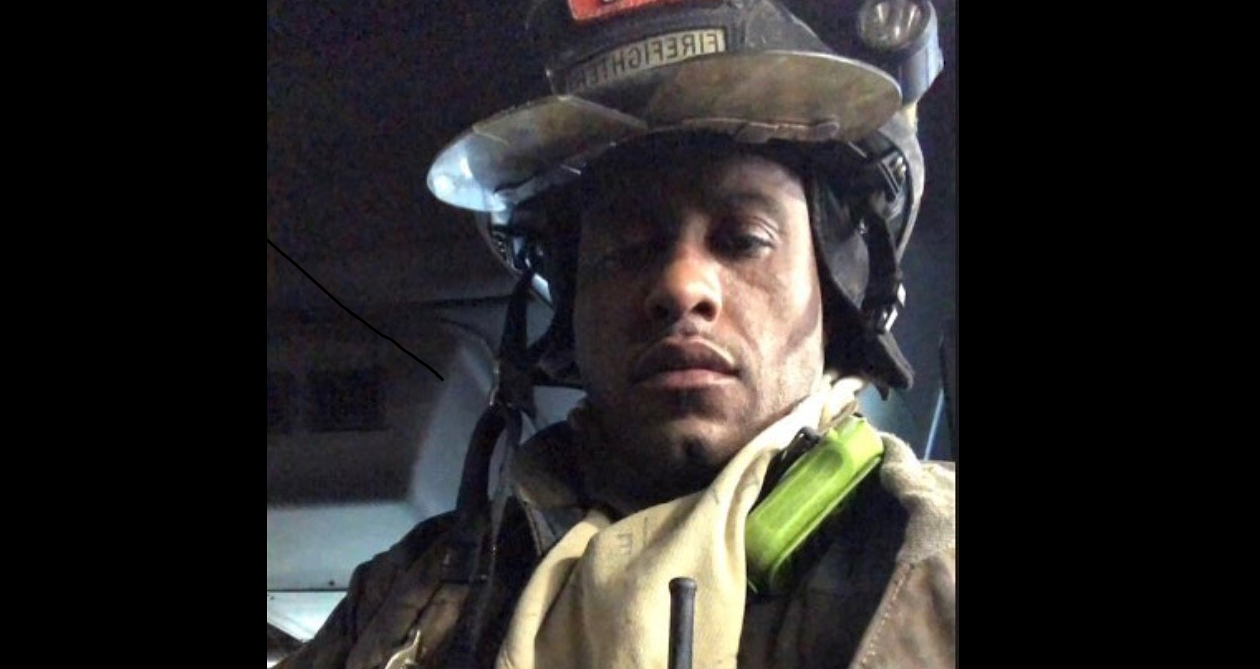 Firefighter Eric Whitehead is still recovering from severe burns to his hands suffered during a fire in January. He is thankful to his fellow firefighters and the staff at Erie County Medical Center. (Photo courtesy of the Buffalo Fire Department)