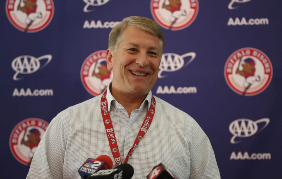 Mike Buczkowski has been in the Bisons' front office since 1987. (Sharon Cantillon/News file photo)