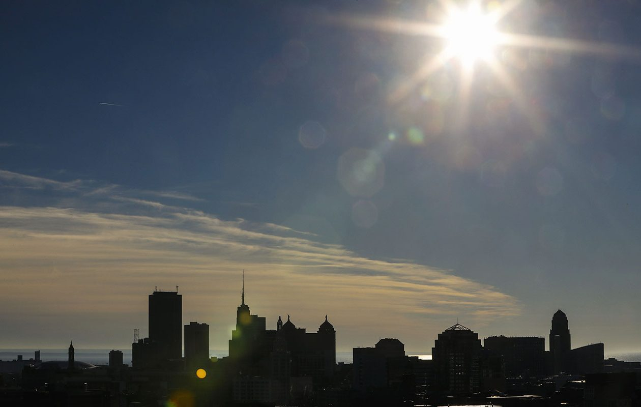 Sunny skies are in the forecast Tuesday, but temperatures will remain cold, the National Weather Service said. (Derek Gee/News file photo)