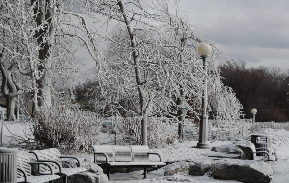 Winter will keep its icy grip on Western New York. (James P. McCoy/Buffalo News)