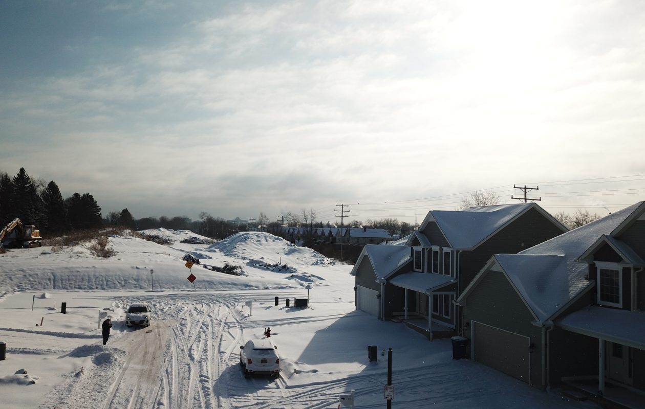 The Colvin Estates subdivision that Marrano Homes is building in North Buffalo. (John Hickey/Buffalo News)