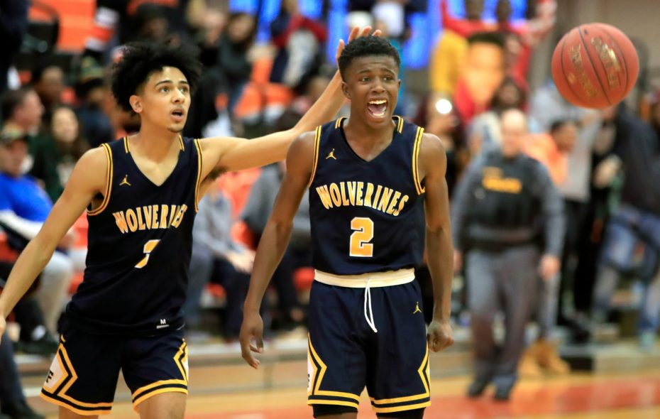 Niagara Falls players Jalen Bradberry and WIllie Lightfoot may be underclassmen but play wiser than their respective years. (Harry Scull Jr./Buffalo News)