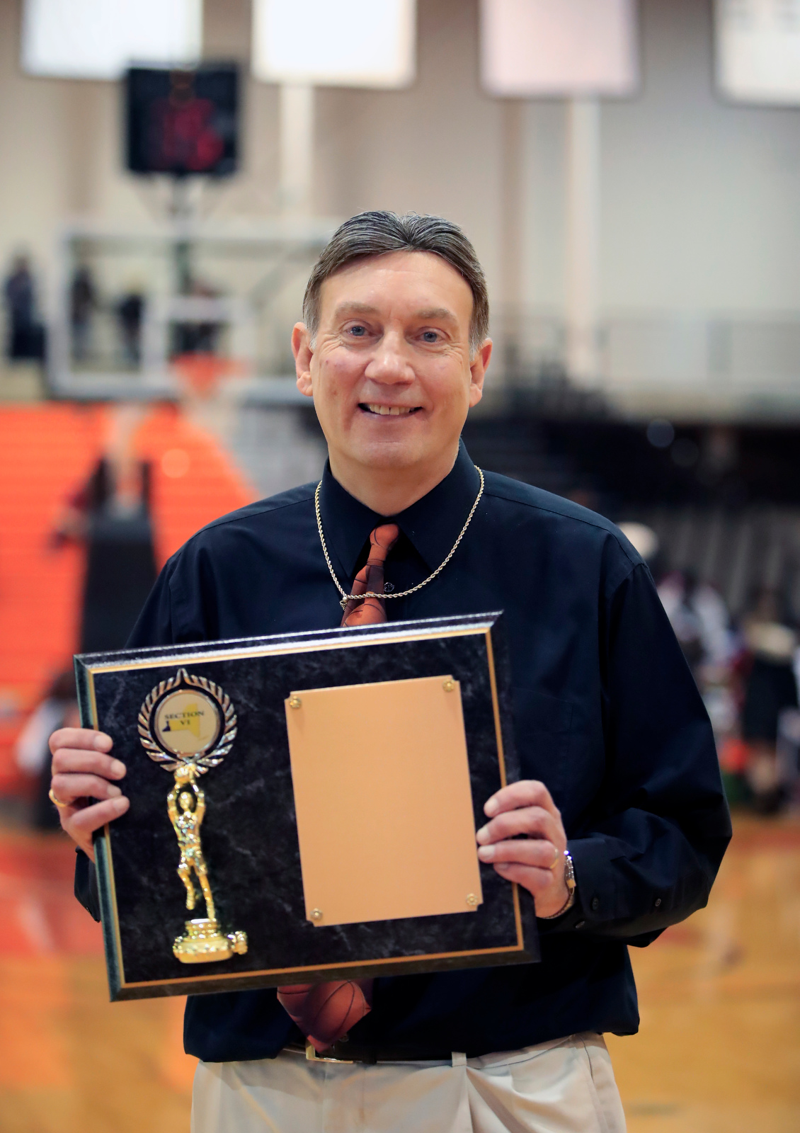 coach-600th victory-Anastasia-Olean-CIty Honors-Section VI-Class Class B1-Final-Buffalo State Sports Arena-Scull