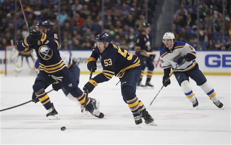 Buffalo Sabres 4, St. Louis Blues 3, SO