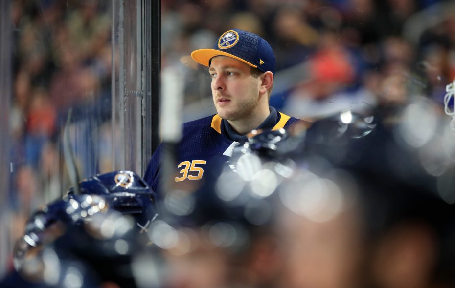 Linus Ullmark among the few bright spots in Sabres' preseason loss
