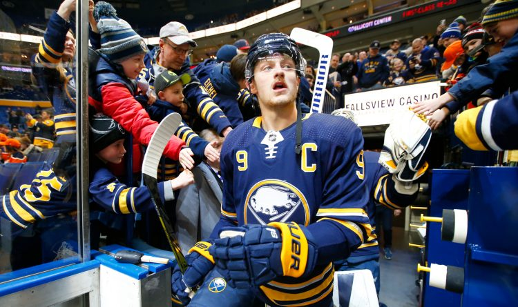 Eichel-Sabres-Oilers-KeyBank Center-NHL-Scull