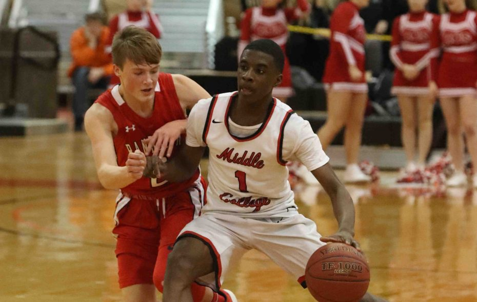 Jamond Jones leads Middle Early College in scoring but isn't the only threat to pile up points for the Kats. (James P. McCoy/Buffalo News)