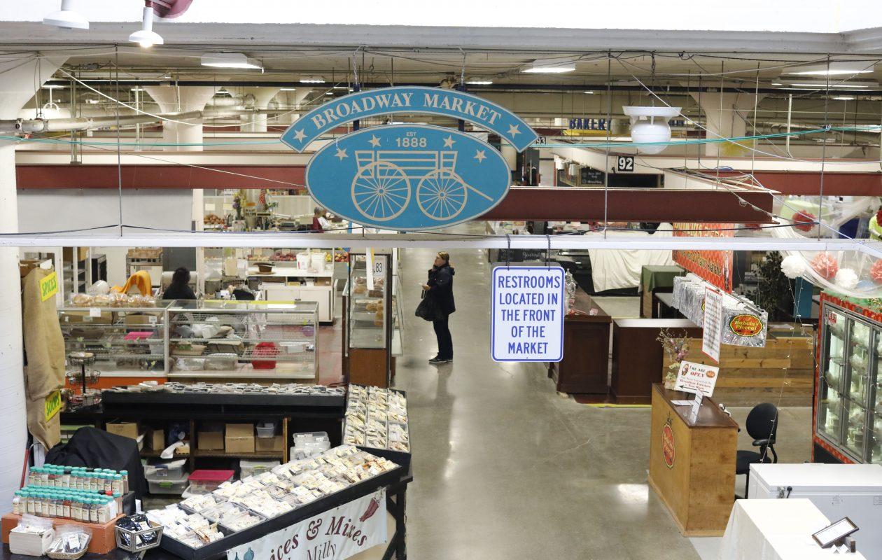 The Broadway Market, Wednesday, March 13, 2019. (Derek Gee/Buffalo News)