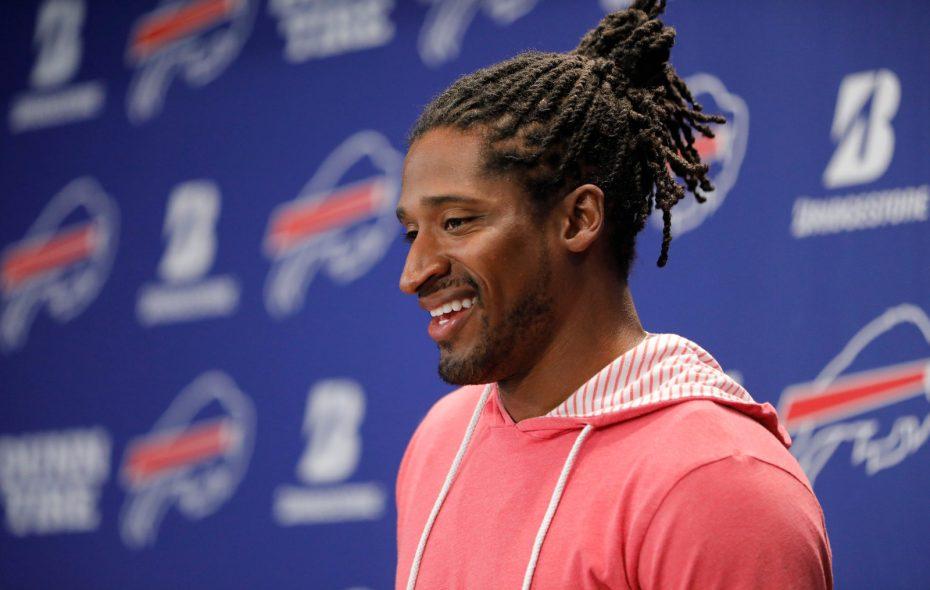 New Bills kick returner Andre Roberts was a first-team All-Pro last season. (Derek Gee/Buffalo News)