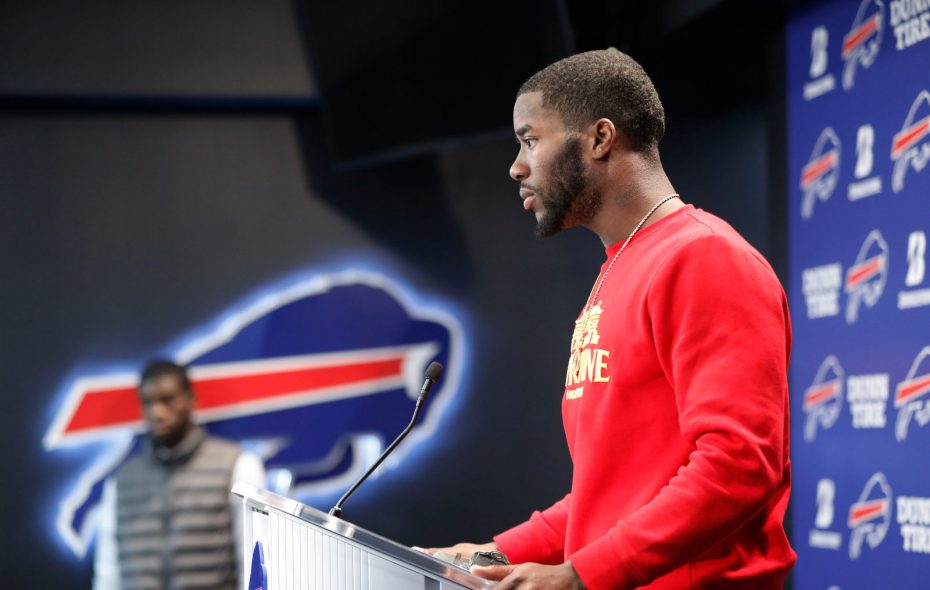 Buffalo Bills wide receiver John Brown. (Derek Gee/Buffalo News)