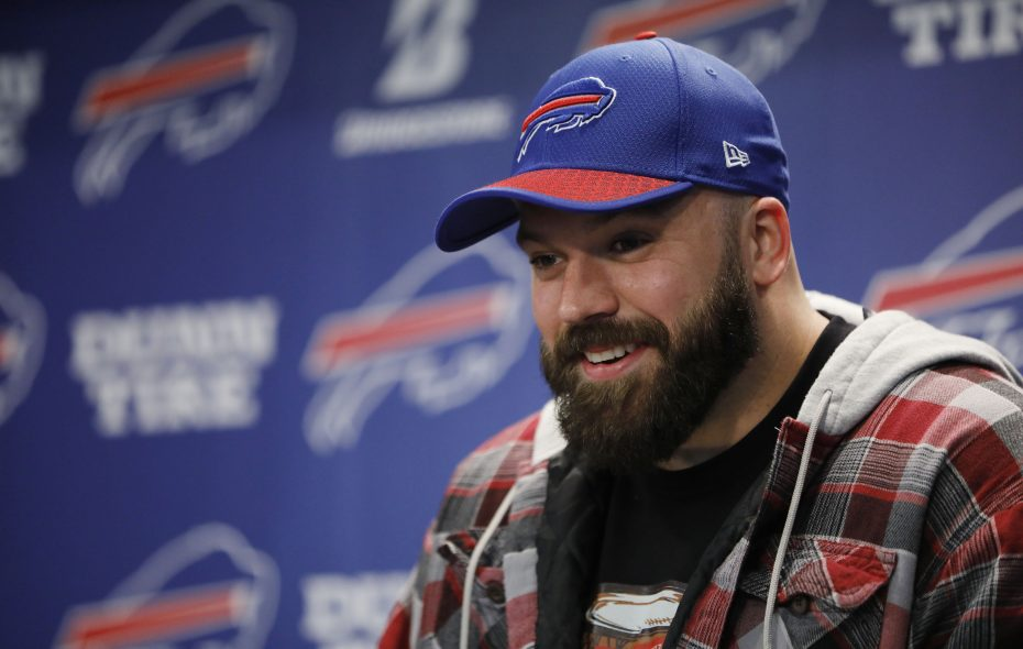 New Buffalo Bills center Mitch Morse is expected to anchor the offensive line. (Derek Gee/Buffalo News file photo)