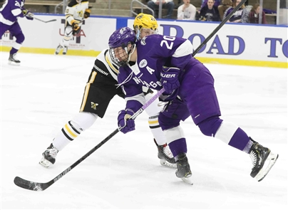 The Niagara Purple Eagles' storybook season ends as the team falls to the American International Yellow Jackets 3-2 in OT for the Atlantic Hockey Association title.