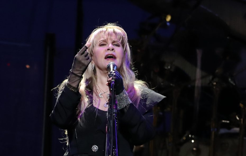 Fans were enthralled with singer Stevie Nicks, giving her raucous ovations, throughout the performance by rock legends Fleetwood Mac at KeyBank Center. (Sharon Cantillon/Buffalo News)