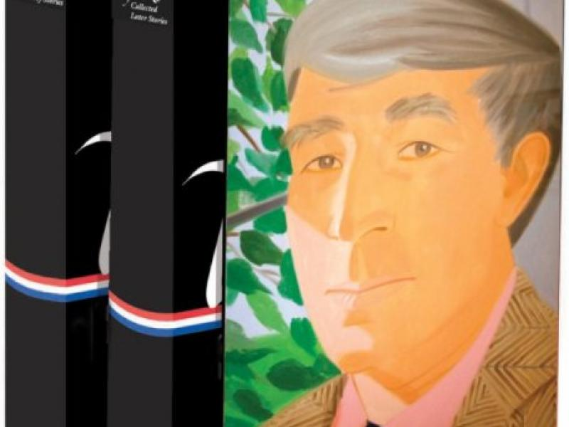 Boxed set of  'John Updike: The Collected Stories' published 2013 by Library of America.