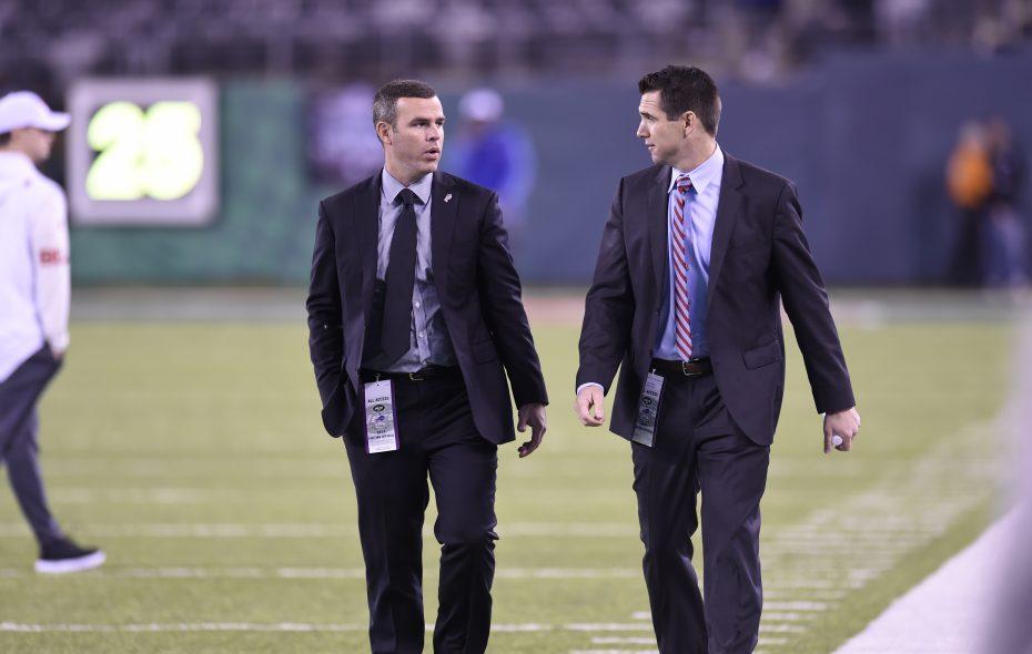 Buffalo Bills GM Brandon Beane (left) and assistant GM Joe Schoen (Photo: Buffalo Bills)