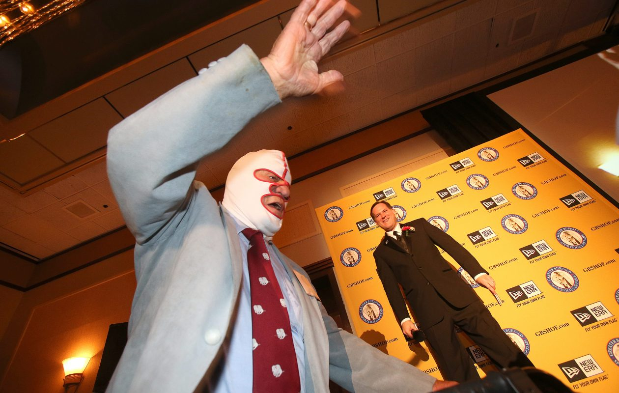 World Wrestling Association legend Dick 'The Destroyer' Beyer was inducted into the Greater Buffalo Sports Hall of Fame in 2003. (Robert Kirkham/News file photo)