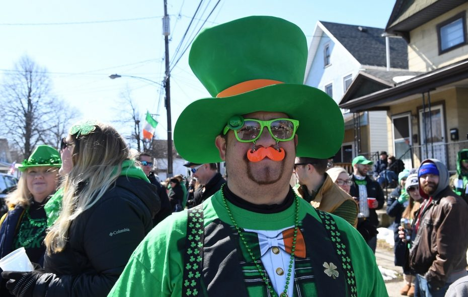 Suit up for St. Patrick's Day Weekend in Buffalo. (Nancy J. Parisi/Special to The News)